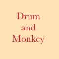 Drum and Monkey logo