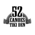 52 Canoes Tiki Den logo