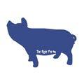 The Blue Pig logo