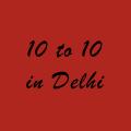 10 to 10 in Delhi logo