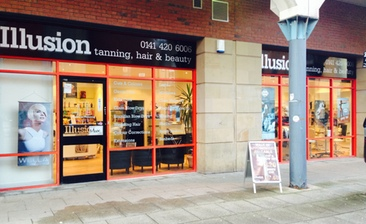 Illusion hair beauty glasgow health beauty for Aberdeen tanning salon