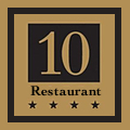10 Restaurant & Bar logo