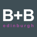 B+B Edinburgh logo