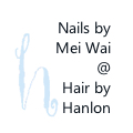 Nails by Mei Wai @ Hair by Hanlon logo