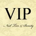VIP Nail, Tan & Beauty logo