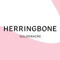 The Herringbone Goldenacre logo