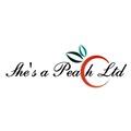 She's a Peach (Hair by Mairi) logo