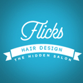 Flicks Hair Design logo