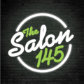 THE SALON 145  logo