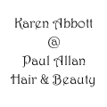 Karen Abbott Hair @ Paul Allan Hair & Beauty logo