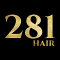 281 Hair logo