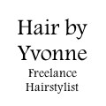 Hair by Yvonne - Freelance Hairstylist logo