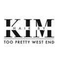 Hair by Kim at Too Pretty West End logo