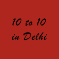 10 to 10 in Delhi logo