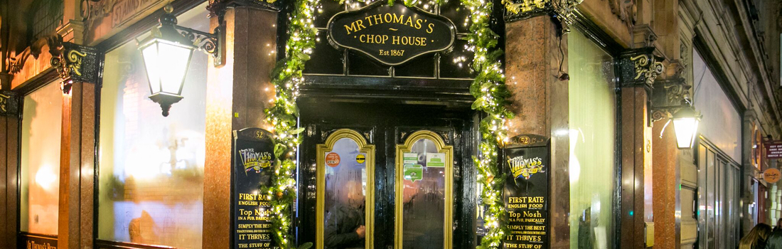 Mr Thomas S Chop House Manchester Restaurant Bookings