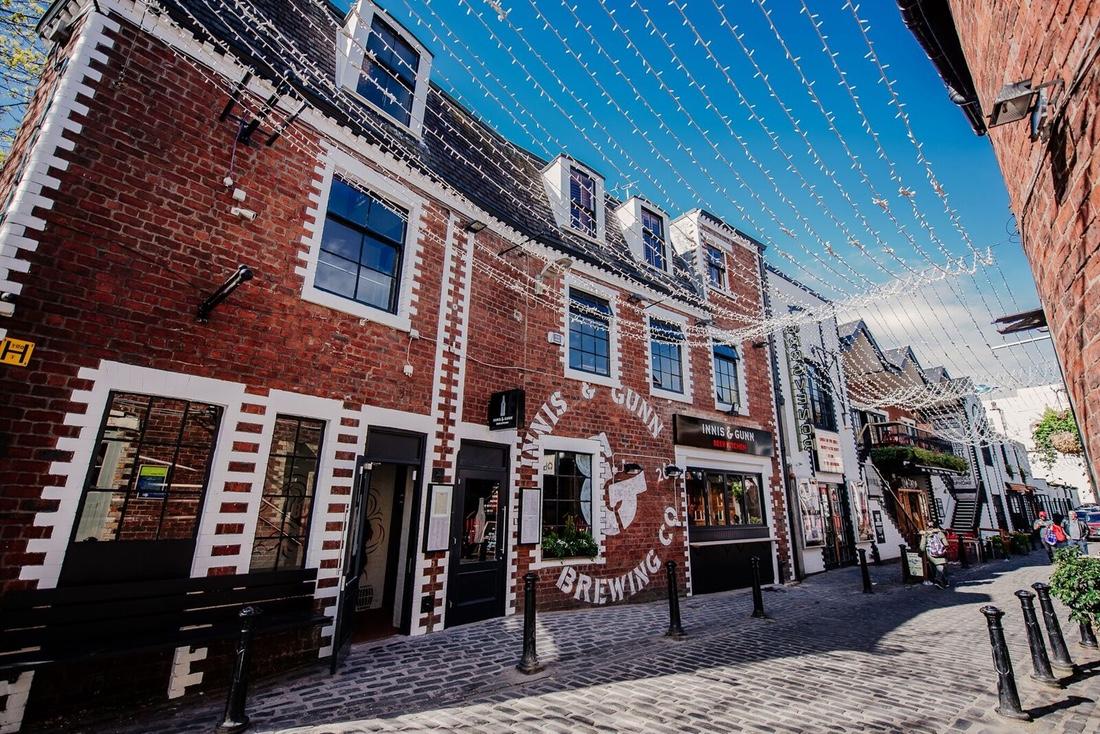 Innis Gunn Brewery Taproom Ashton Lane Glasgow Restaurant Bookings Offers 5pmcouk