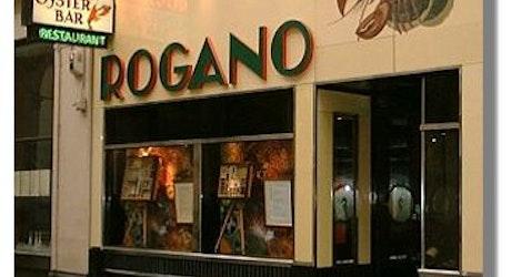 Cafe Rogano Menu
